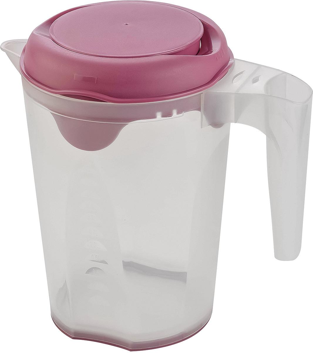 Емкость мерная Plast Team Bergen, PT1148ПУР-16, пурпурный, 1,5 л