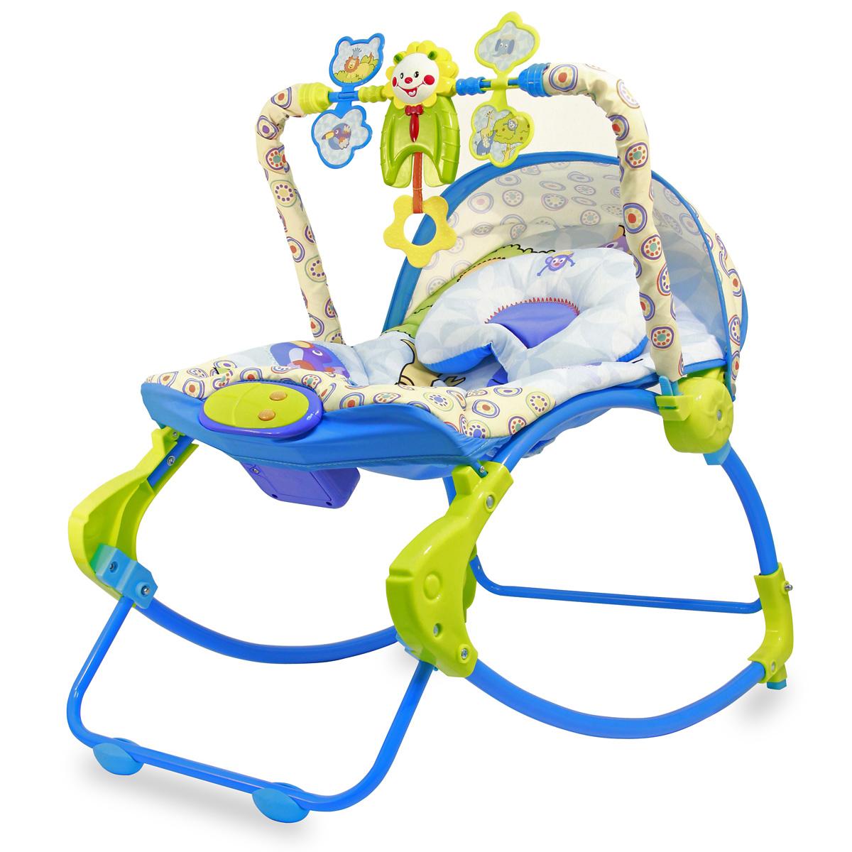 Шезлонг для новорожденных Ути Пути 42244, 42244 игрушки для новорожденных по месяцам фото