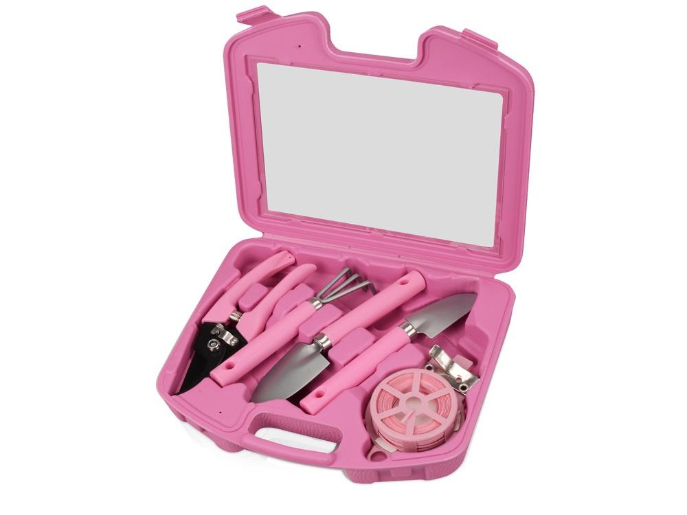 Набор садовых инструментов Oasis «Роза», 672108, розовый набор инструментов oasis jack 496807 оранжевый
