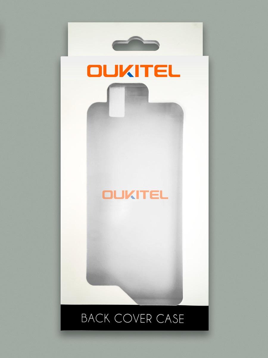 Чехол для сотового телефона Oukitel Чехол с пленкой, прозрачный