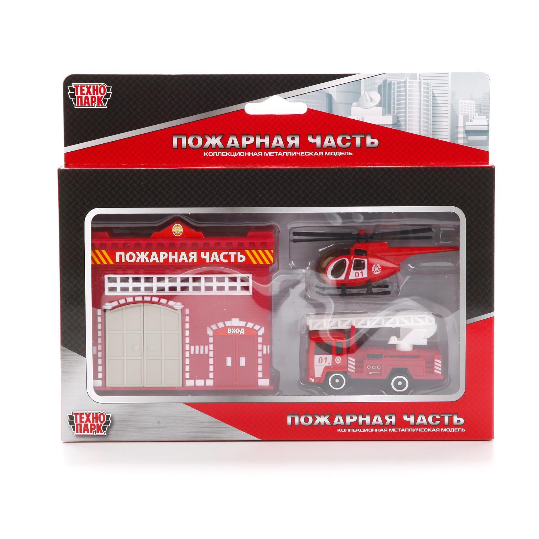 Игровой набор Технопарк 211224, 211224 гаражи и игровые наборы технопарк игровой набор технопарк парковка спецслужб со спуском