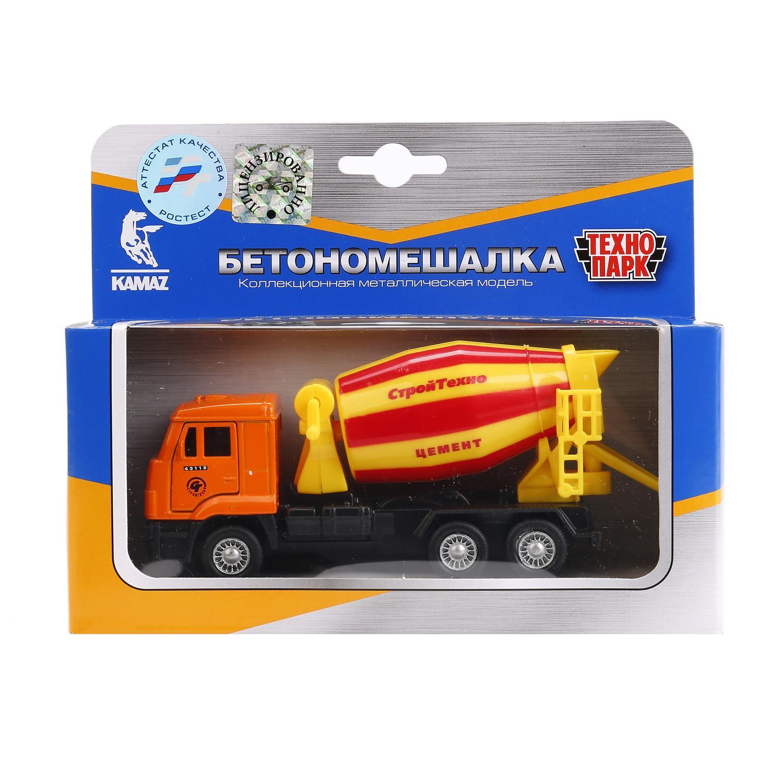 цена на Машинка Технопарк 235875, 235875 желтый, оранжевый, красный