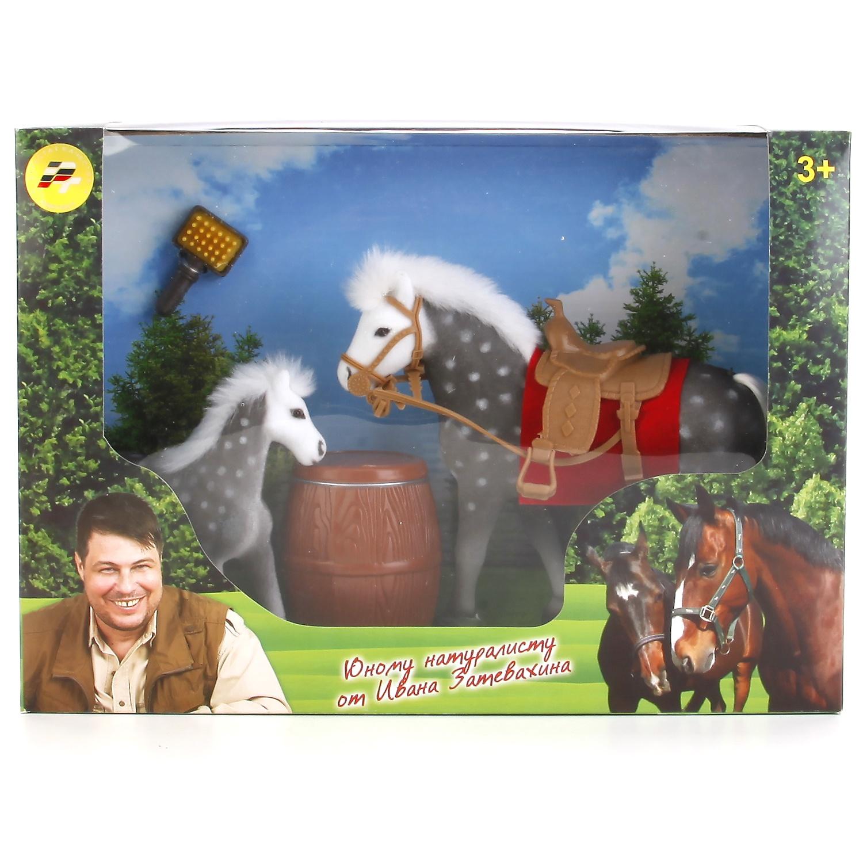 Фото - Игровой набор Играем вместе 173127, 173127 набор из 2 х лошадок играем вместе флокиров с аксесс в ассорт в кор в кор 3 12наб