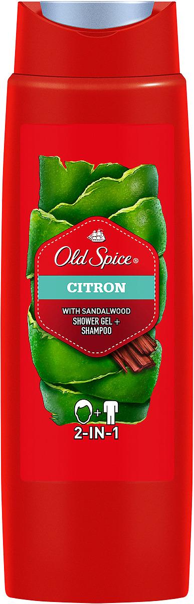 Гель для душа и шампунь 2в1 Old Spice Citron Природный аромат, 400 мл