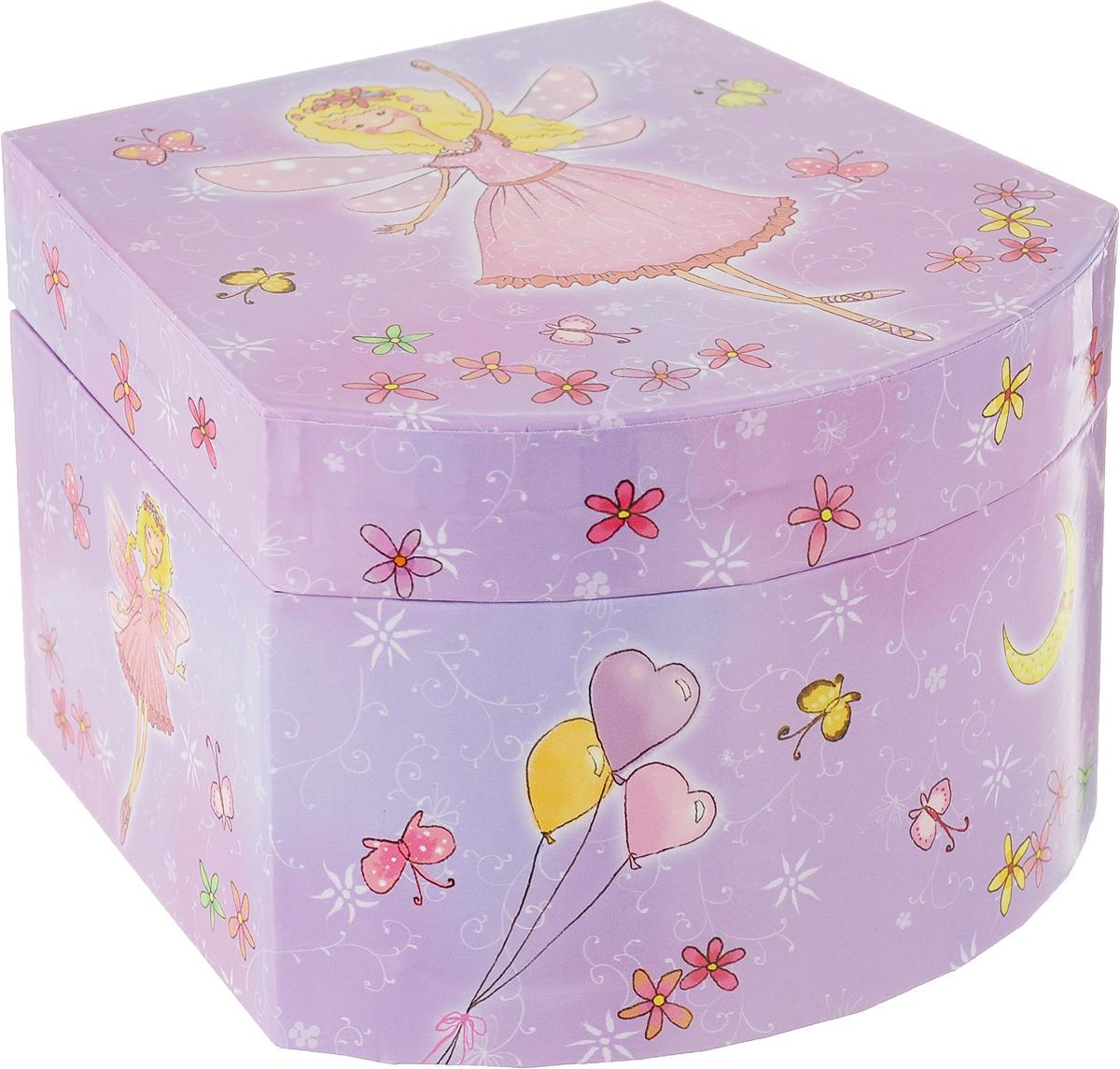 Музыкальная шкатулка Jakos, 411000-411904, фиолетовый стоимость