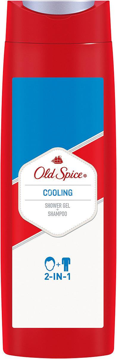 Гель для душа и шампунь 2в1 Old Spice Cooling Классический аромат, 400 мл