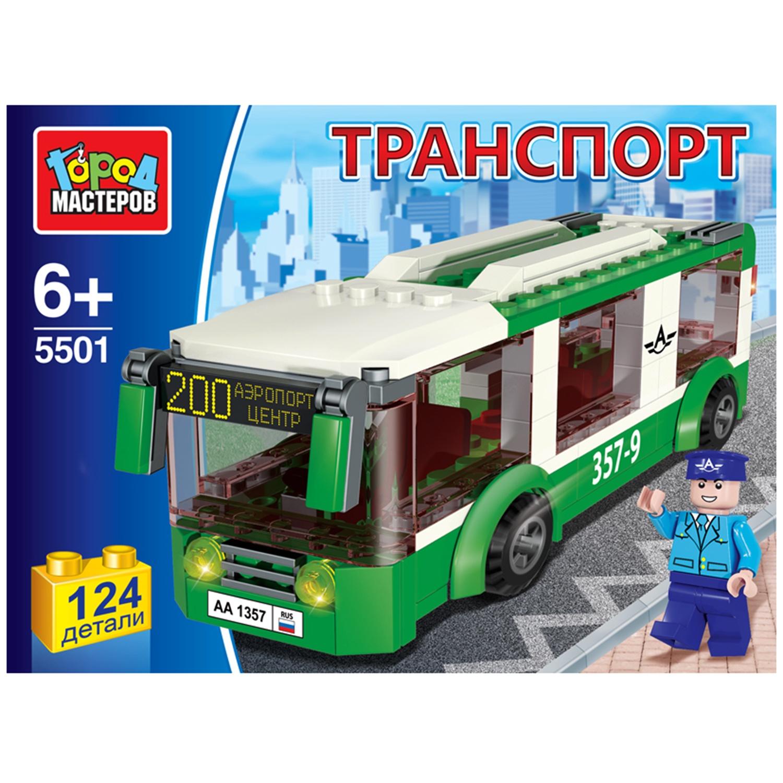 Пластиковый конструктор Город мастеров 210678, 210678