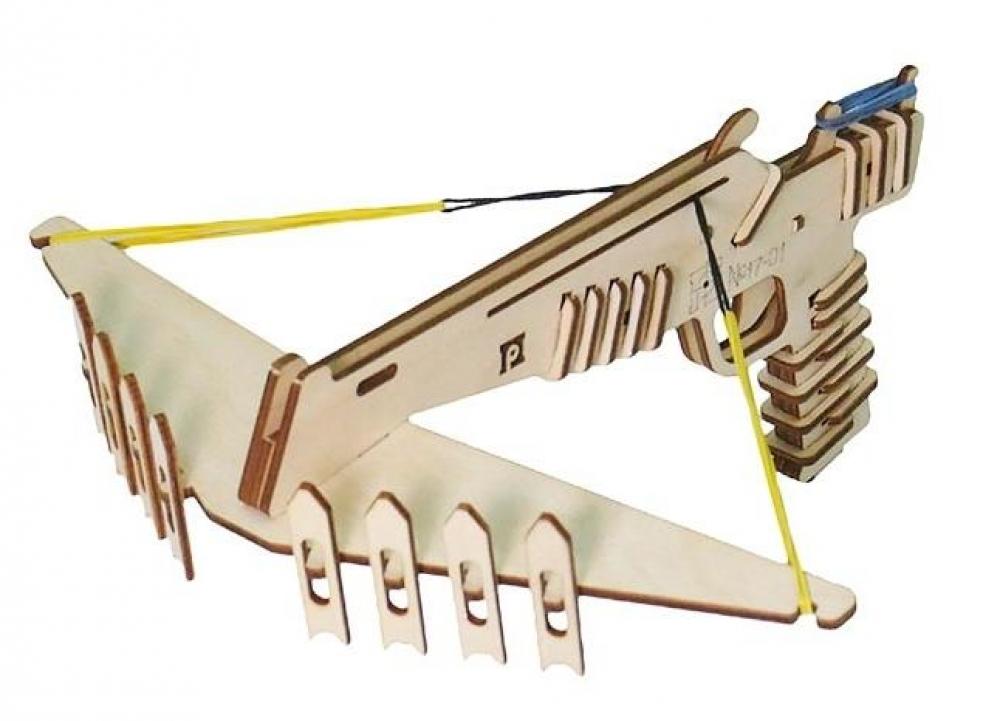 Арбалет игрушечный Паркматика Малый, ПМ17-01 арбалет игрушечный паркматика арбалет средний 22 заряда пм17 04