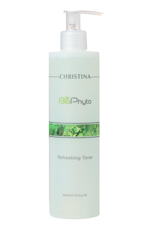 Тоник для лица CHRISTINA Освежающий Bio Phyto Refreshing bio phyto refreshing toner освежающий тоник 300 мл christina bio phyto