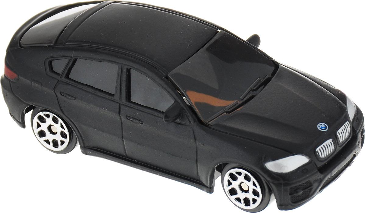 Uni-FortuneToys Модель автомобиля BMW X6 цвет черный матовый цена