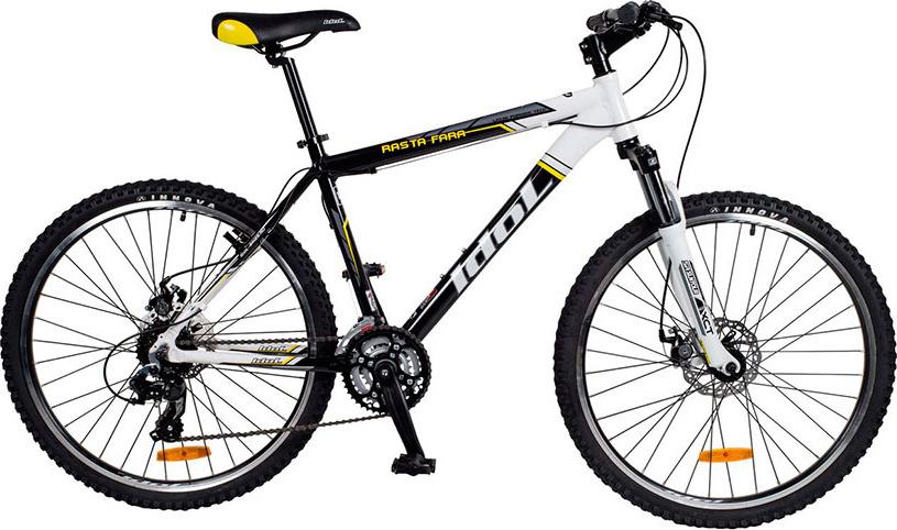 Велосипед горный Idol Rasta Fara, 48404, черный, рама 16, колесо 26
