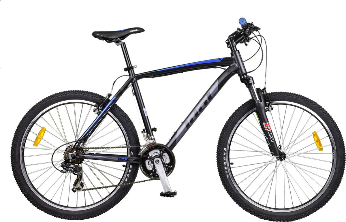 Велосипед горный Idol Rasta, 48405, черный, рама 16, колесо 26