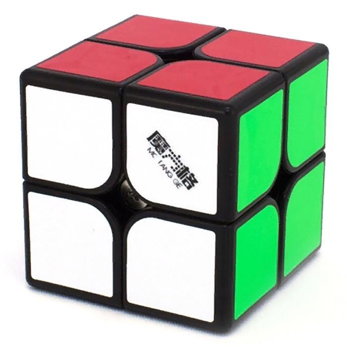 Головоломка moffange Кубик MOFANGGE 2X2 WUXIA MAGNETIC (Black) головоломка mofangge кубик x man 7x7 spark magnetic