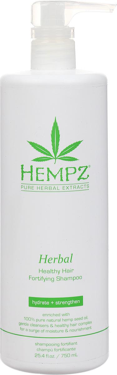 Шампунь для волос Hempz Herbal Healthy Hair Fortifying растительный, укрепляющий, 750 мл