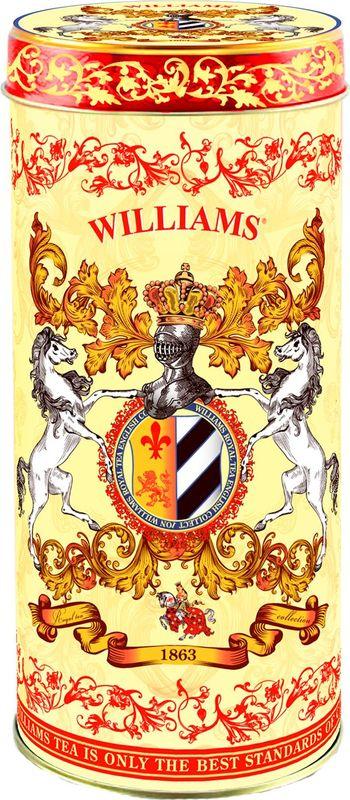 Чай листовой черный Williams Rich Ceylon, 150 г чай листовой teekanne legend 1882 черный 150 г