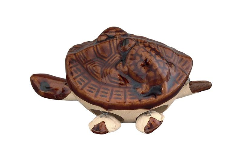 Фигурка декоративная Elan Gallery Черепашки, 170432, коричневый фигурка elan gallery черепашки 7 5 5 5 см коричневый