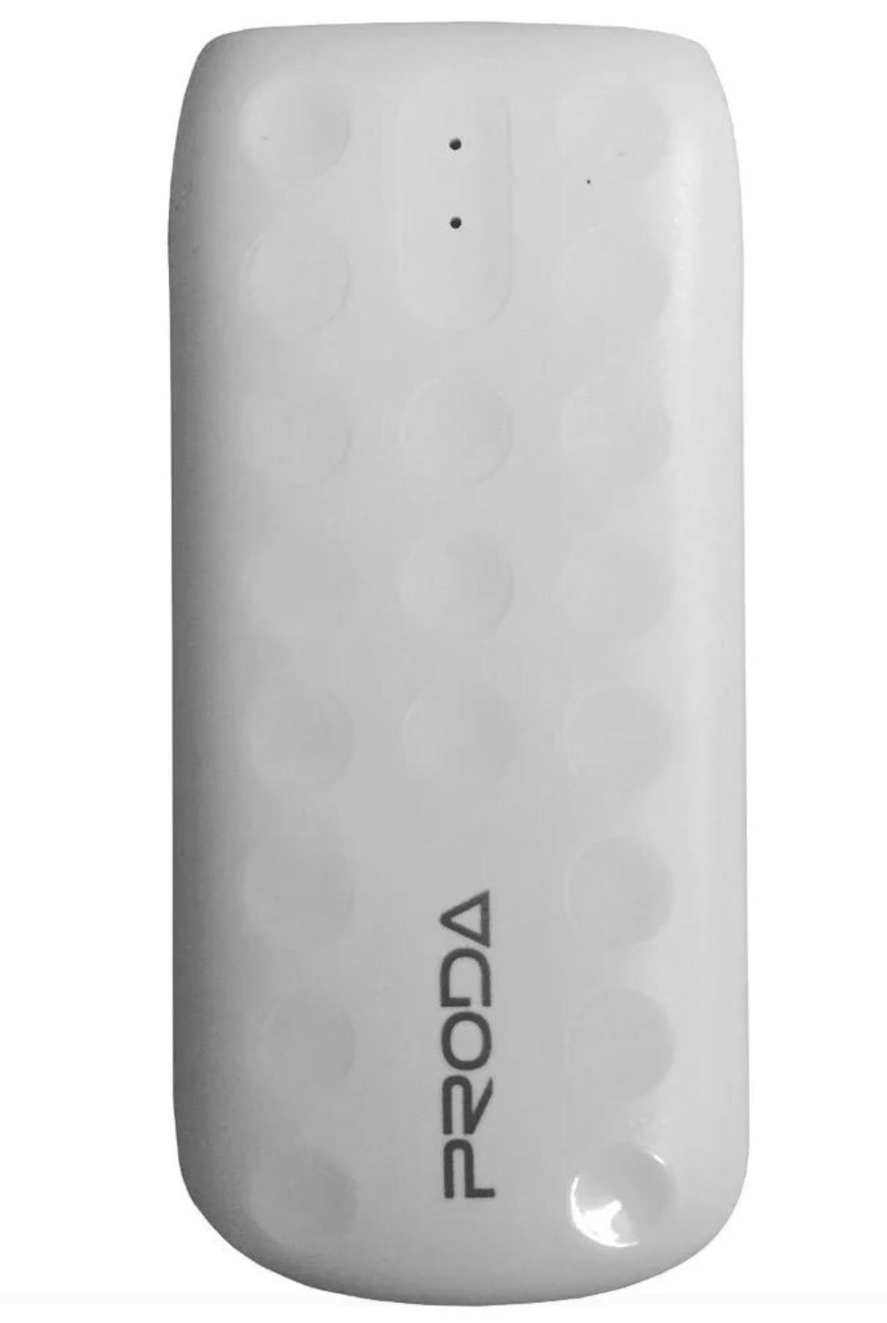 Внешний аккумулятор REMAX Power Bank Внешний аккумулятор Remax Proda 5000 mAh розовый, CPB-5000, белый аккумулятор remax power bank v10i proda jane series 20000mah red