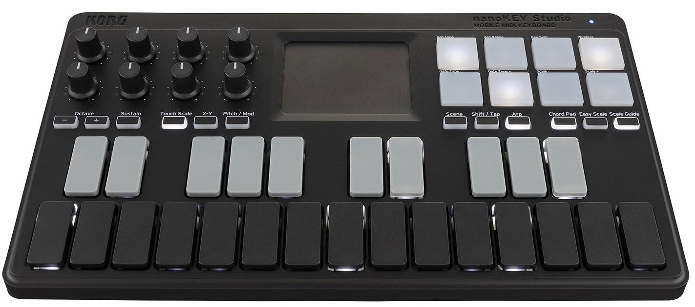 MIDI-контроллер KORG NANOKEY-STUDIO wacom cs 610pk ipad и iphone