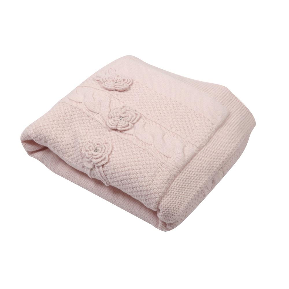 Одеяло детское Nipperland для малышей 6403, светло-розовый