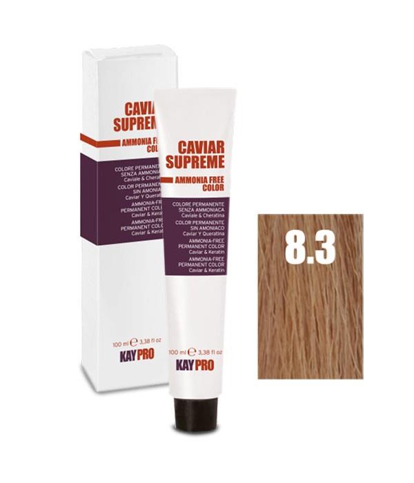 Краска для волос KayPro 19155-8.3 окислитель kaypro caviar supreme oss 10 v