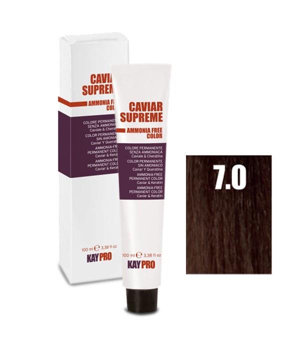 Краска для волос KayPro 19155-7.0 kaypro крем краска 8 3 светлый золотистый блонд caviar supreme 100 мл