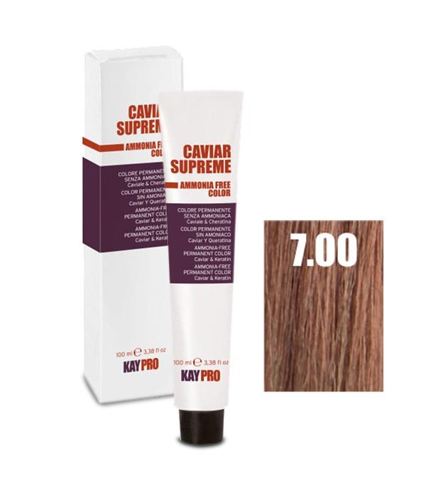 Краска для волос KayPro 19155-7.00 kaypro крем краска 8 3 светлый золотистый блонд caviar supreme 100 мл