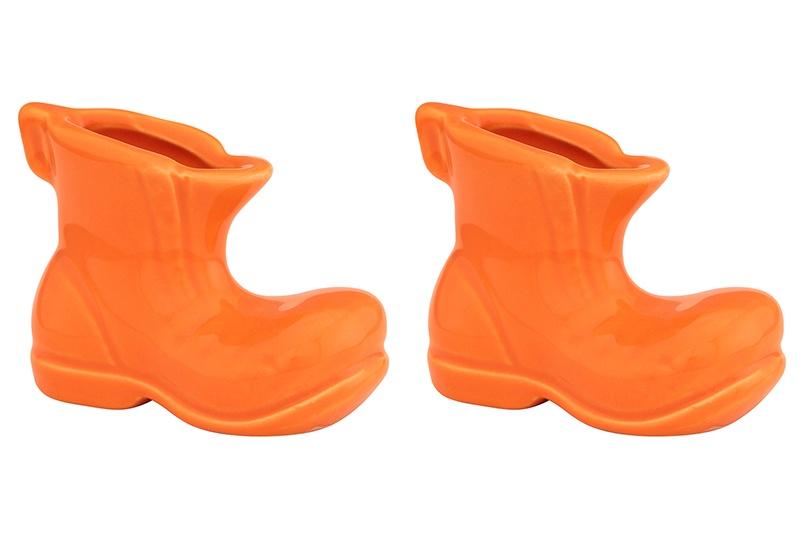 Подставка для зубочисток Elan Gallery Башмачок оранжевый, оранжевый подставки кухонные elan gallery вазочка под зубочистки сакура на розовом