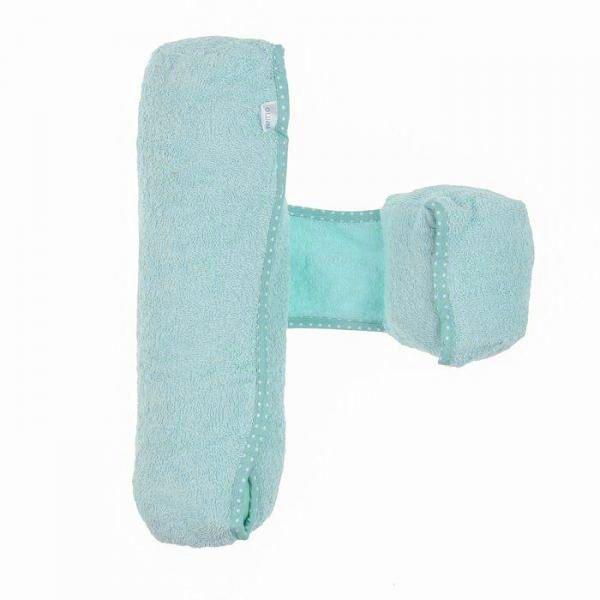 Подушка-валик Детская подушка декоративная (опорный валик) 1149, бирюзовый