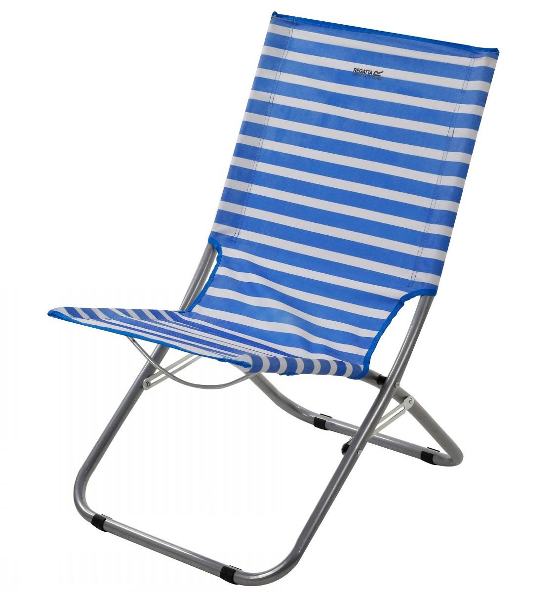 Стул складной Regatta Kruza Bch Lounger, RCE242, синий adjustable rattan sun lounger patio garden beach lounger transport by sea