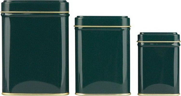 Банка для чая Gutenberg Коста, 70081, зеленый, 50 г70081Банка для чая Коста зелёная, 50 г