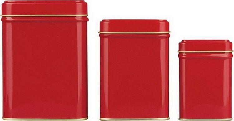 Банка для чая Gutenberg Коста, 70089, красный, 50 г70089Банка для чая Коста красная, 50 г