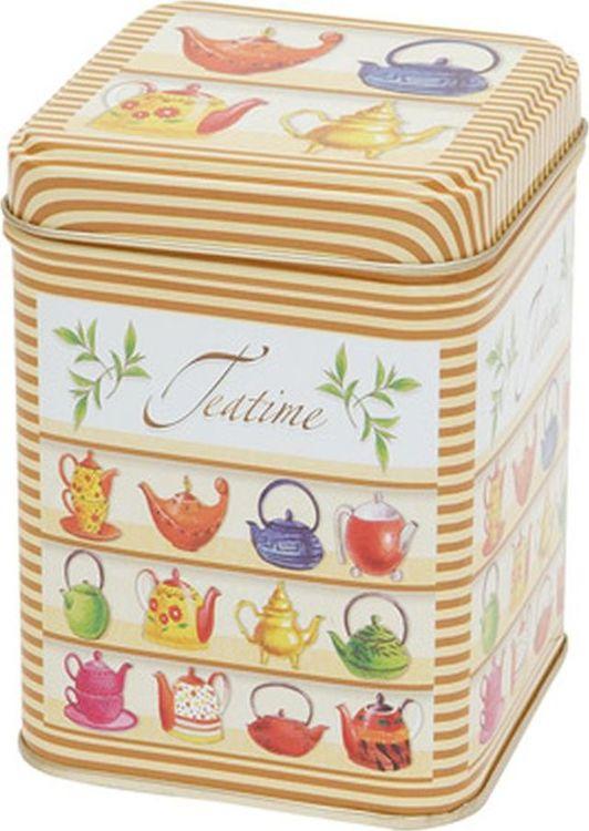 Банка для чая Gutenberg Время чая, 70275, разноцветный, 100 г банка для чая gutenberg коллаж 70024 разноцветный 150 г