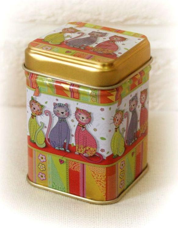 Банка для чая Gutenberg Иви, 70397, разноцветный, 25 г банка для чая gutenberg коллаж 70024 разноцветный 150 г