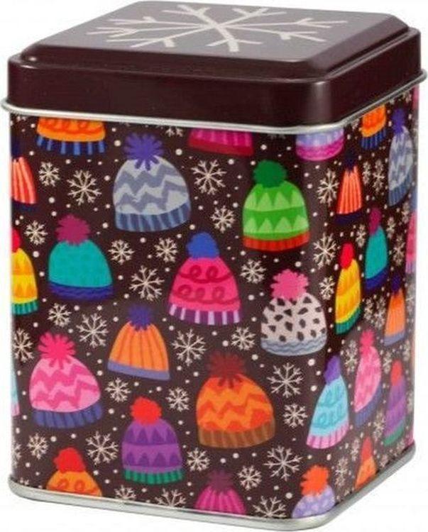 Банка для чая Gutenberg Весёлые шапочки, 80431, разноцветный, 50 г