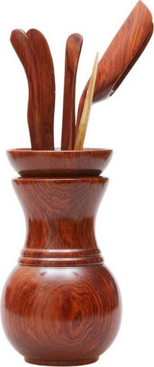 все цены на Инструменты для чайной церемонии Gutenberg, HT-102A, коричневый онлайн