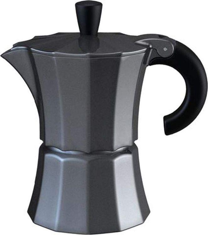 лучшая цена Кофеварка гейзерная Gutenberg Morosina, MOR002, серый металлик, на 3 чашки
