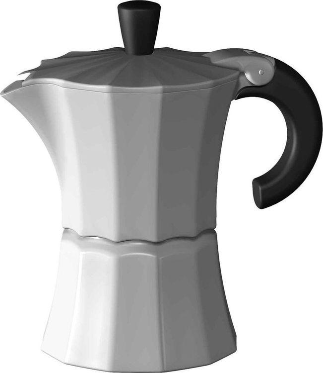 Кофеварка гейзерная Gutenberg Morosina, MOR003, белый, на 6 чашек