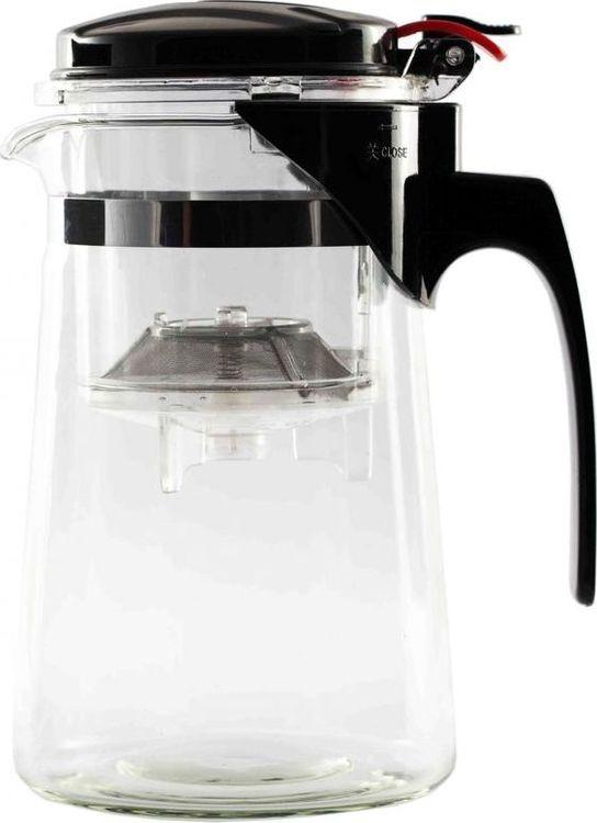 Чайник заварочный Gutenberg Гунфу, QS-750, прозрачный, 750 млQS-750Чайник заварочный Гунфу (классика), объём 750 мл