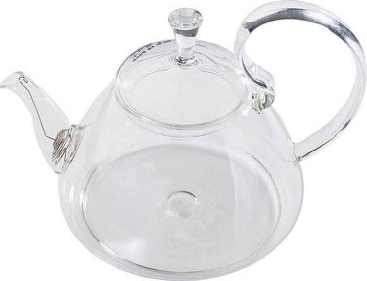 Чайник заварочный Gutenberg Георгин, 003891, прозрачный, 1,2 л