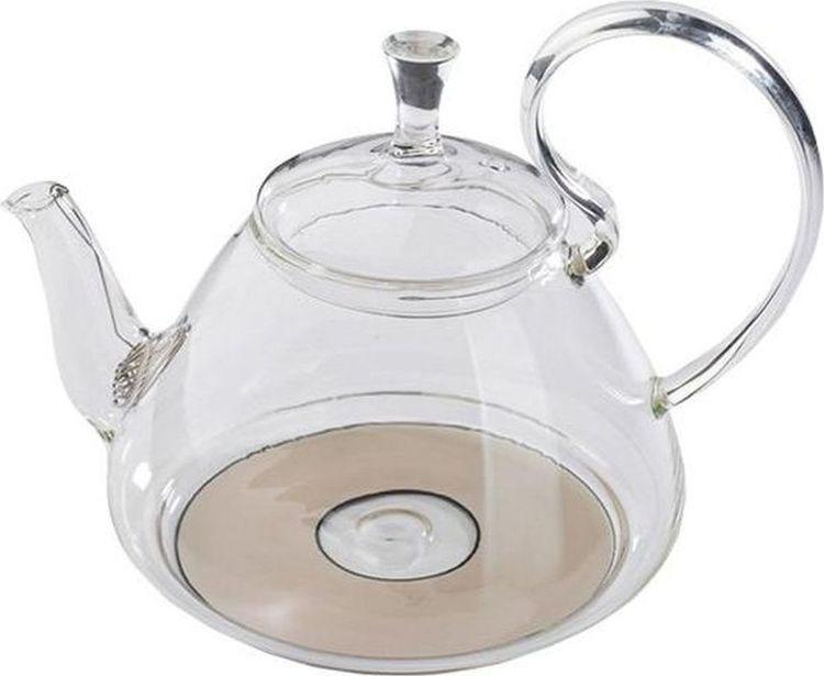 Чайник заварочный Gutenberg Георгин, 003892, прозрачный, 1,2 л цена