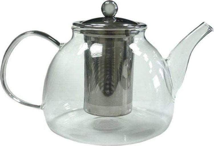 Чайник заварочный Gutenberg Мальва, 003895, прозрачный, 1,2 л цена