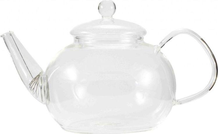 Чайник заварочный Gutenberg Одуванчик, 003907, прозрачный, 1 л цена