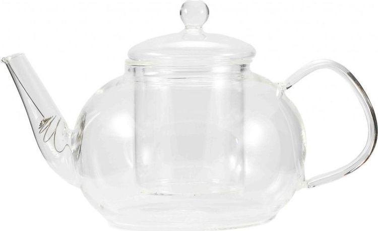 Чайник заварочный Gutenberg Одуванчик, 003911, прозрачный, 1,2 л цена