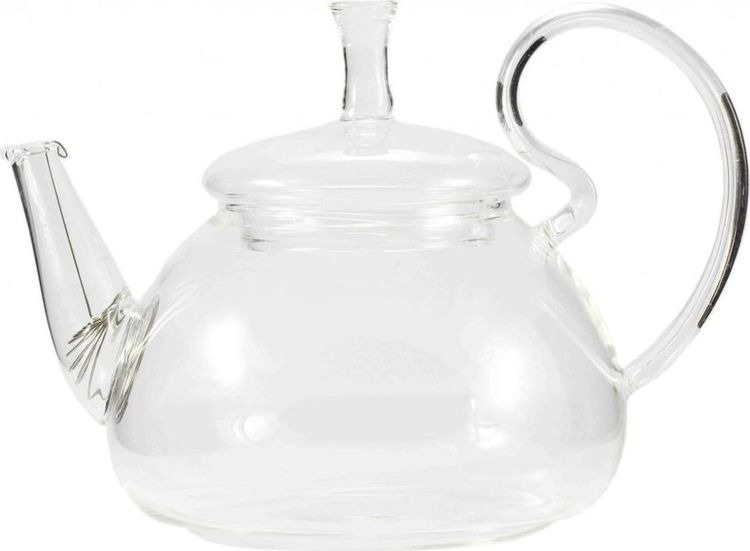 Чайник заварочный Gutenberg Ромашка, 003912, прозрачный, 800 мл