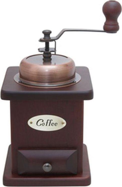 Ручная кофемолка Gutenberg Колумбия ретро, 004801, коричневый aresa ar 3602 кофемолка