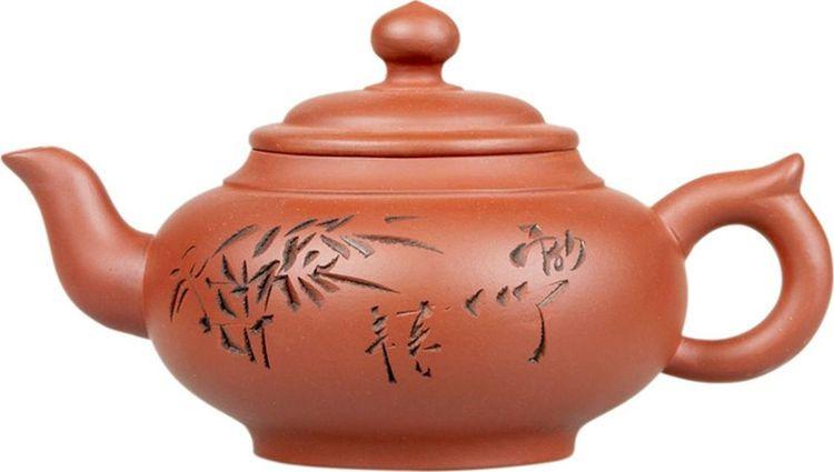 Чайник глиняный Gutenberg Поющий лес, 350 мл чайник из исинской глины созерцание 100 мл