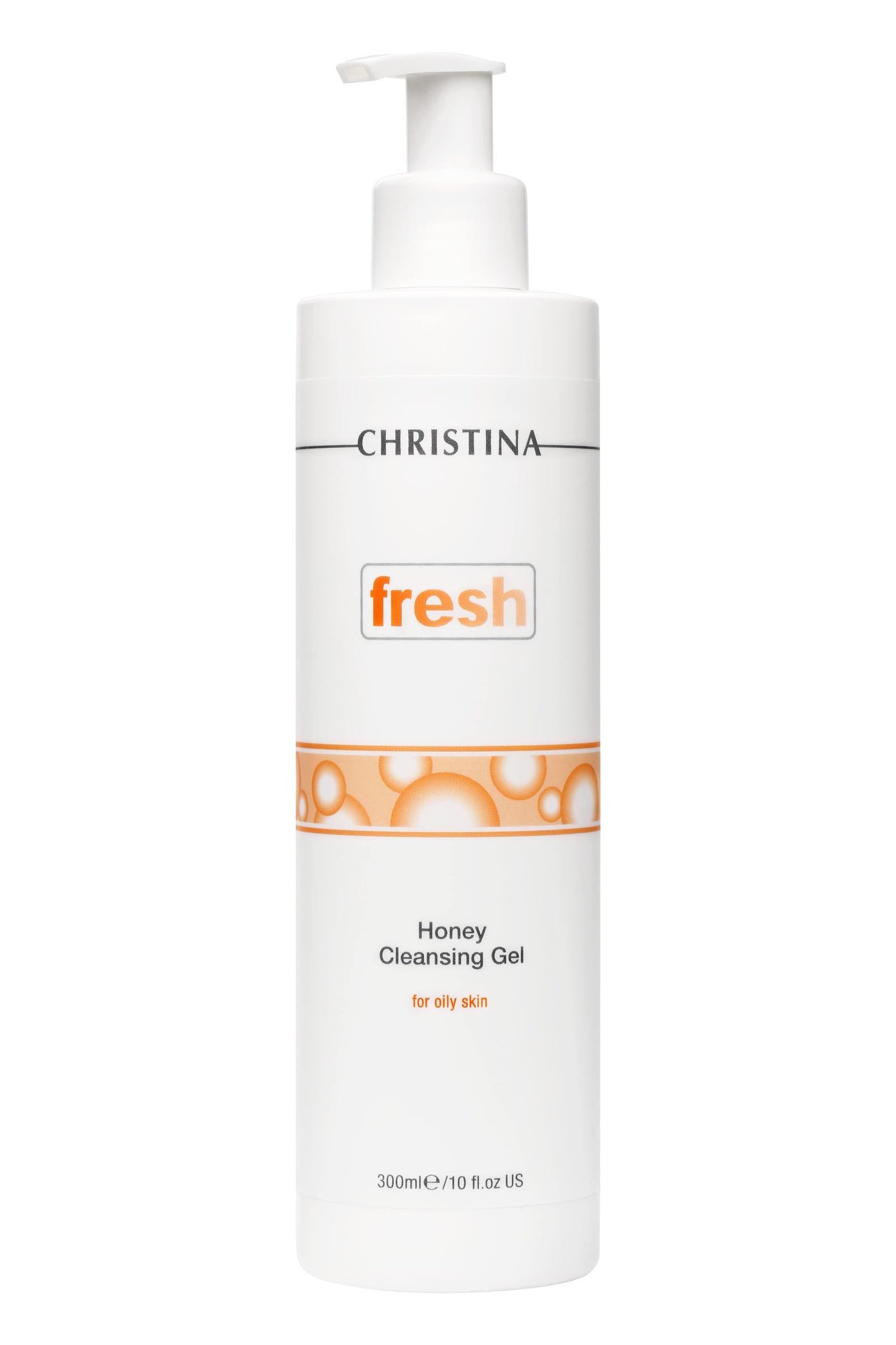 Гель для умывания CHRISTINA Медовый очищающий гель для жирной кожи Fresh Honey Cleansing Gel for oily skin Christina