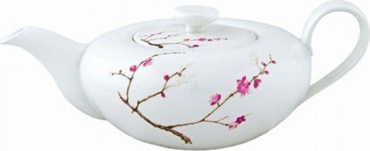 Чайник заварочный Gutenberg Цветущая сакура, 009901, разноцветный, 1 л цена