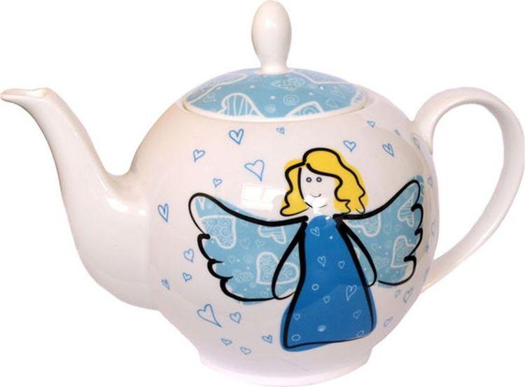 Чайник заварочный Gutenberg Небесный ангел, 009960, разноцветный, 1 л чайник яблоки 1 л