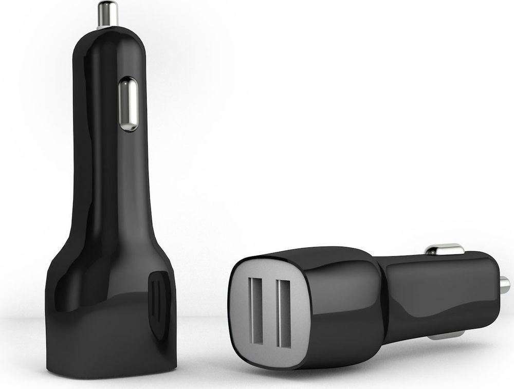 Автомобильное зарядное устройство Akai CH-6D01B 2 USB 2.1A, черный